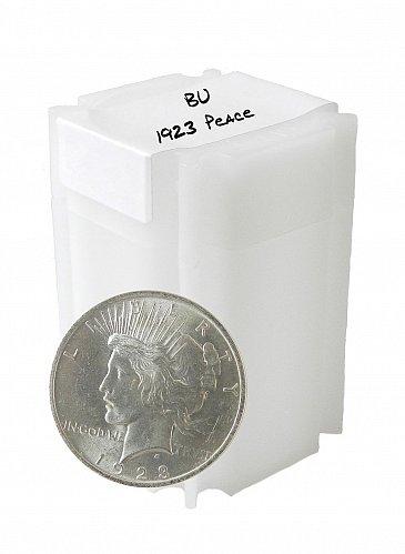 1923 Silver Peace Dollar BU lot of 20
