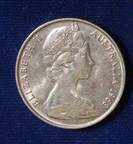 1968 Australia 10 Cents XF