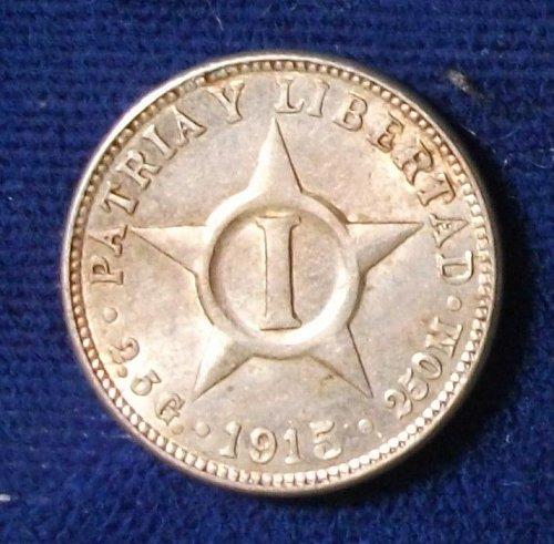 1915 Cuba Centavo UNC