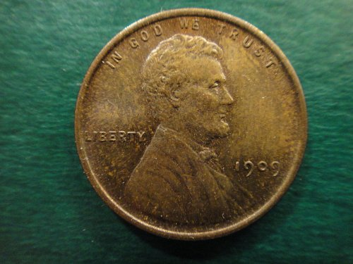 1909 Lincoln Cent MS-63 (Choice BU) Absolutely Gorgeous Lusterous Patina!