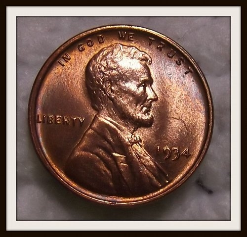 1934 - P Lincoln Wheat Cent (BU)