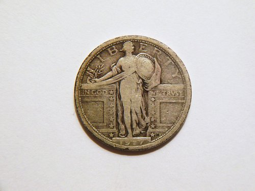 1917-P *Type 1* Standing Liberty Silver Quarter