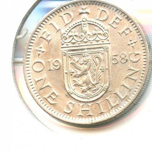 1958 British Shilling