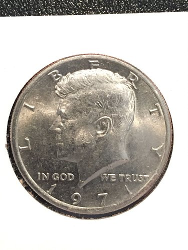 1971-P Kennedy Half Dollar