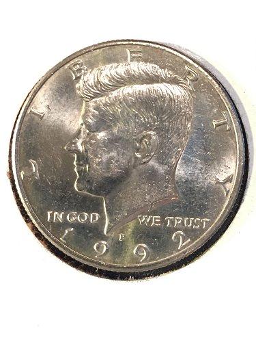 1992-P Kennedy Half Dollar