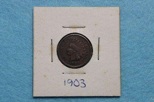 1903 P Indian Head Cent