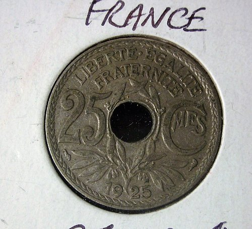 France 1925 25 Centimes