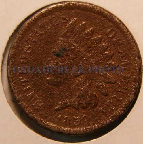1859 Indian Head Cent Filler