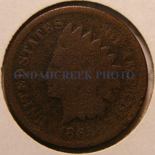 1865 Indian Head Cent Filler