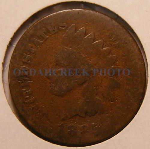 1885 Indian Head Cent AG