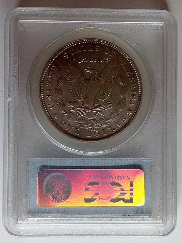Morgan dollar 1893 CC