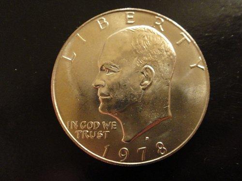 1978-D Eisenhower Dollar MS-63 (Choice BU)