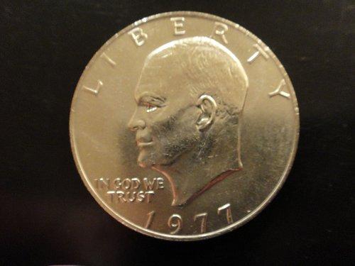 1977 Eisenhower Dollar MS-63 (Choice BU)