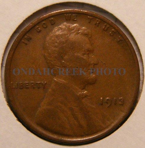 1913 Lincoln Cent Fine