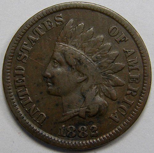 1882 P Indian Head Cent #10