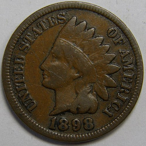 1898 Indian Head Cent #9