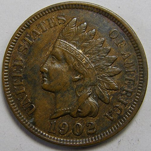 1902 P Indian Head Cent #9