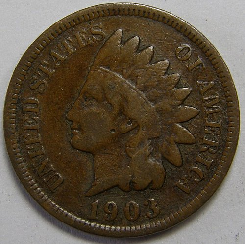 1903 P Indian Head Cent #8