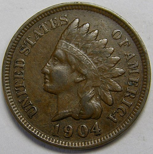 1904 Indian Head Cent #8