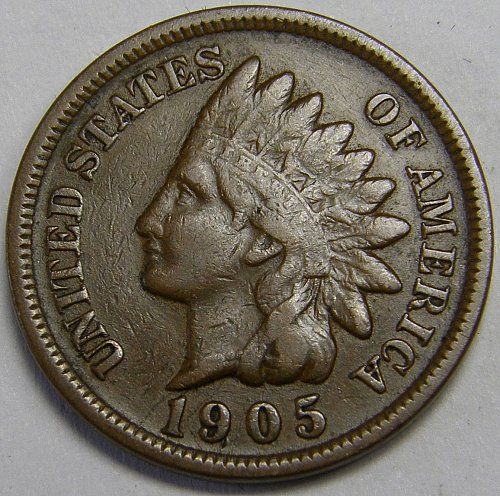 1905 P Indian Head Cent #10
