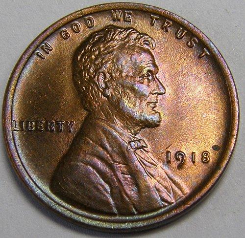 1918 P Lincoln Wheat Cent #5