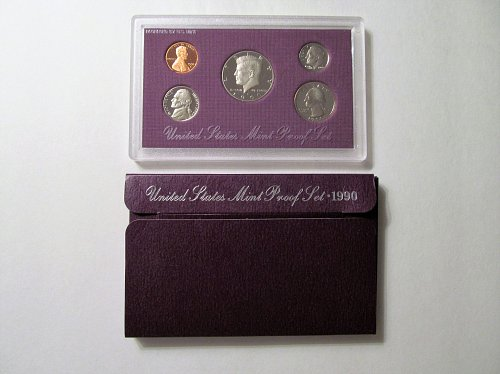 1990 US Mint Proof Set