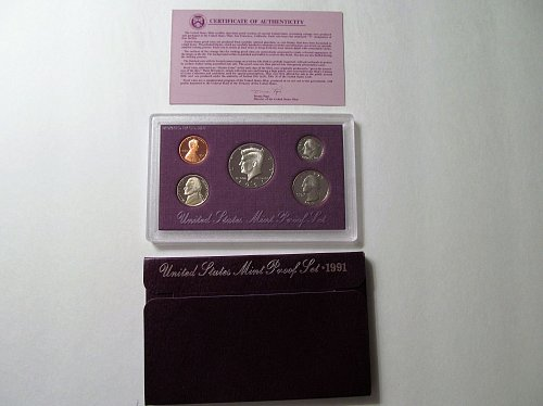 1991 US Mint Proof Set