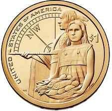 2014  P&D  SACAGAWEA GOLDEN DOLLAR'S