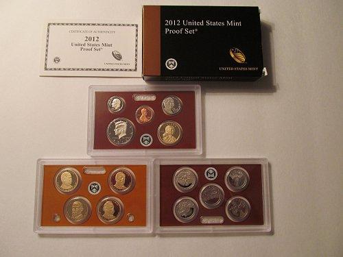2012 US Mint Proof Set