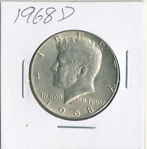 1968D Kennedy Half very nice coin