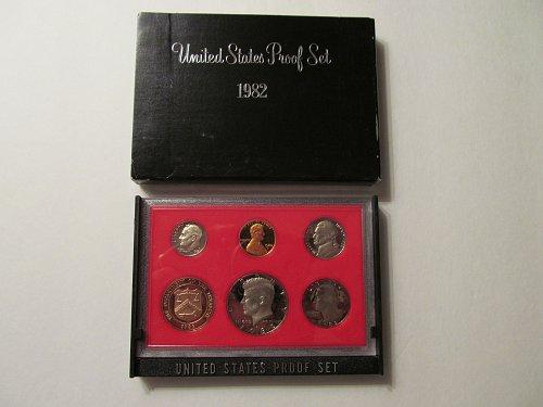 1982 US Mint Proof Set