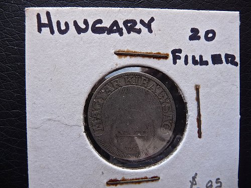 Hungary    1926   20 Filler