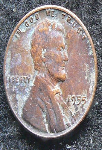 1955 P Lincoln Wheat Cent (VF-20)