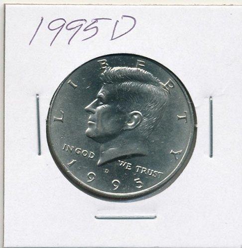 BU 1995D Kennedy half