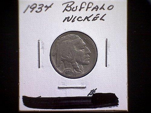 1934-P BUFFALO NICKEL