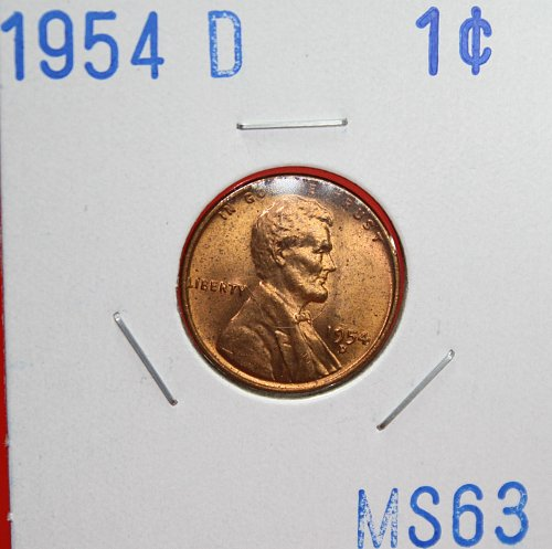 1954 D Lincoln Cent