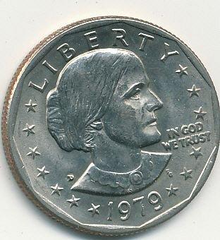 BU 1979D Susan B. Anthiony dollar