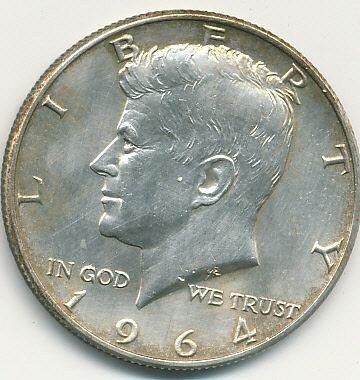 1964D Kennedy half