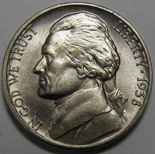 1938 P Jefferson Nickel #2