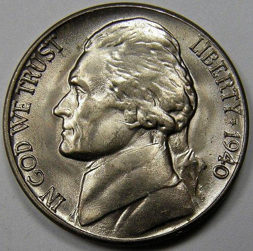 1940 D Jefferson Nickel #2
