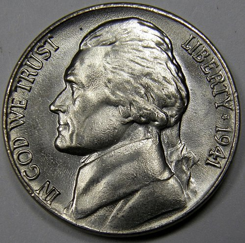 1941 P Jefferson Nickel #2