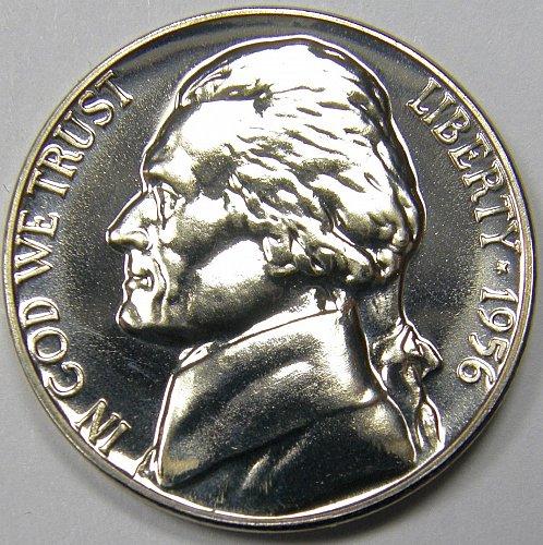 1956 P Jefferson Nickel #1