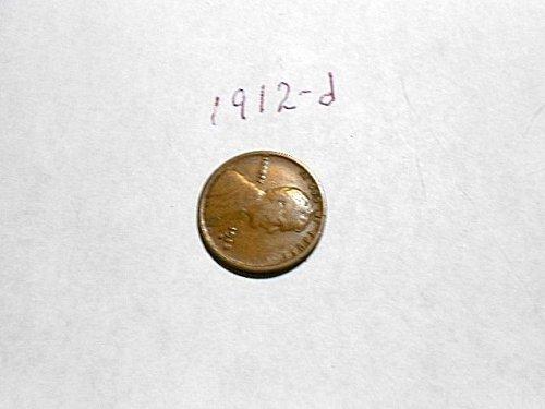 1912-d Lincoln Wheat Cent       Fine