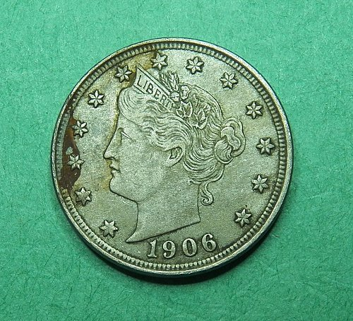 1906 Liberty V Nickel Extra Fine Coin   g51