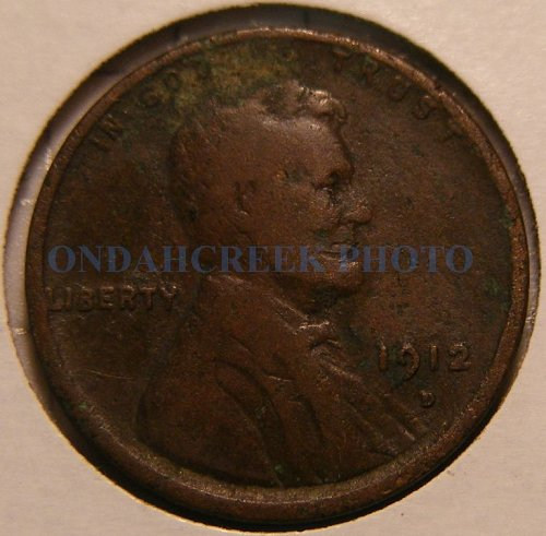 1912-D Lincoln Cent Good