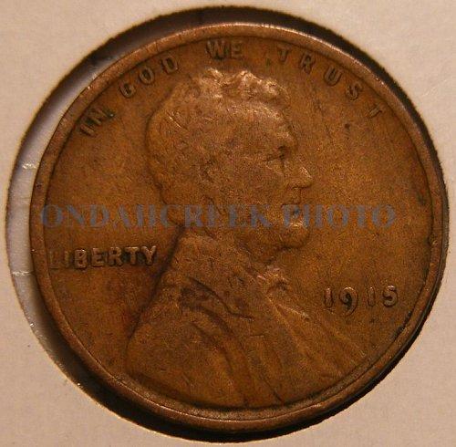 1915 Lincoln Cent Fine