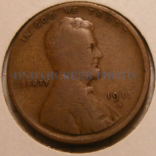 1915-D Lincoln Cent Good