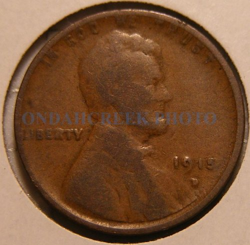 1915-D Lincoln Cent VG