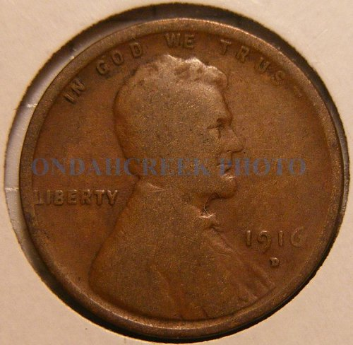 1916-D Lincoln Cent Good