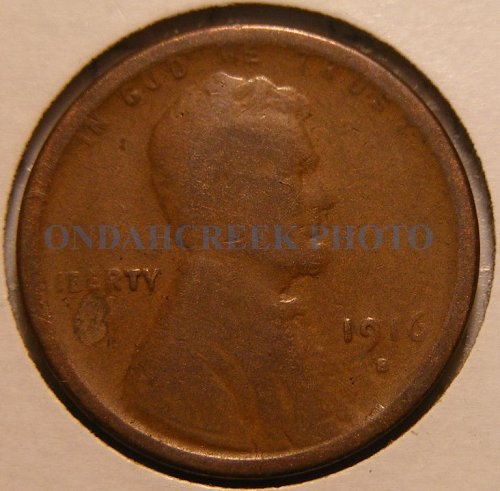 1916-S Lincoln Cent Good